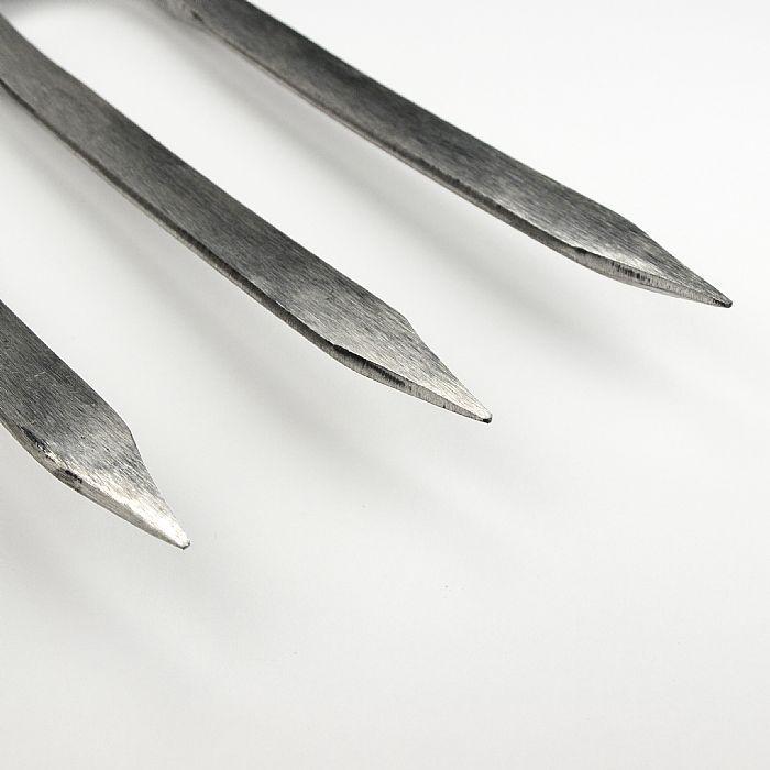 Вилы садовые для копки земли 3 зуба Sneeboer, нержавеющая сталь