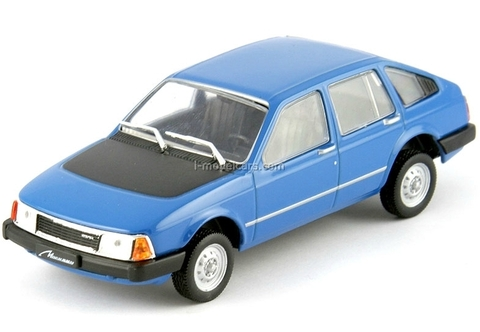 Moskvich-S3 Meridian blue 1:43 DeAgostini Auto Legends USSR #86