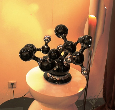 replica ATOMIC table lamp   ( black )