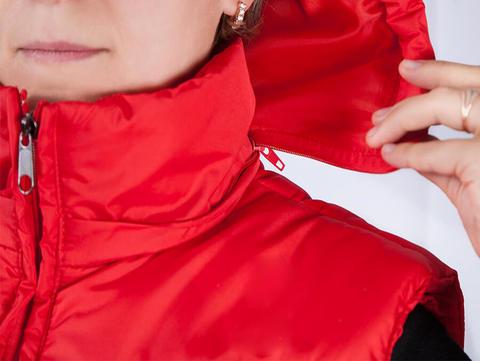 Женский жилет с подогревом RedLaika RL-CF-04 (красный)