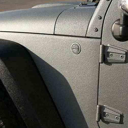 Покраска Раптором Jeep Wrangler фото-1