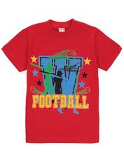 1178-2 футболка детская, красная