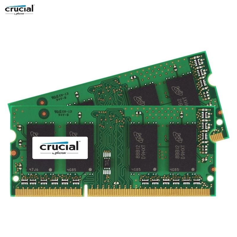 204-pin SODIMM Crucial 8GB DDR3 PC3-14900,