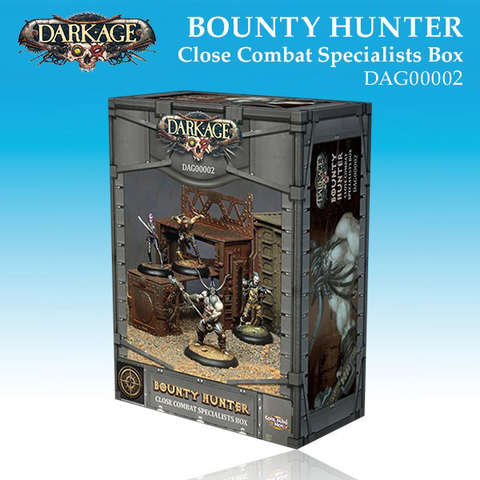 Bounty Hunter Close Combat Specialists Box (4)