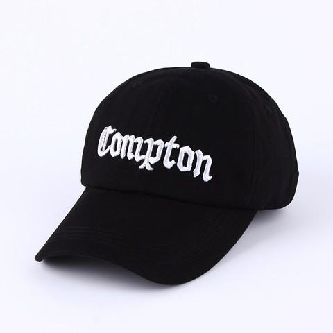 Кепка Compton (Бейсболка Комптон) черная