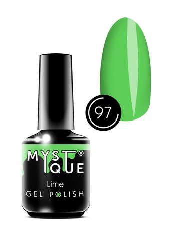 Mystique Гель-лак #97 «Lime» 15 мл