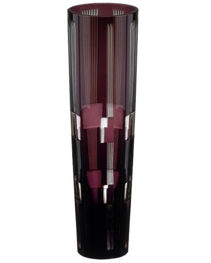 Вазы настольные Ваза 25см Ajka Crystal Retro Amethyst vaza-25sm-ajka-crystal-retro-amethyst-vengriya.jpg
