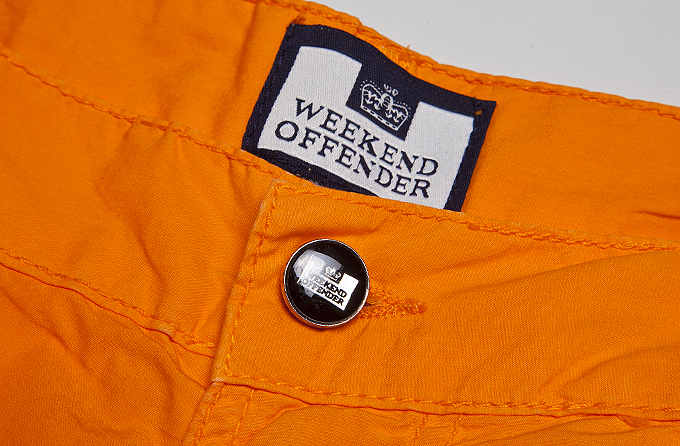 Мужские шорты Weekend Offender Opal Naranj. Коллекция весна-лето 2016.