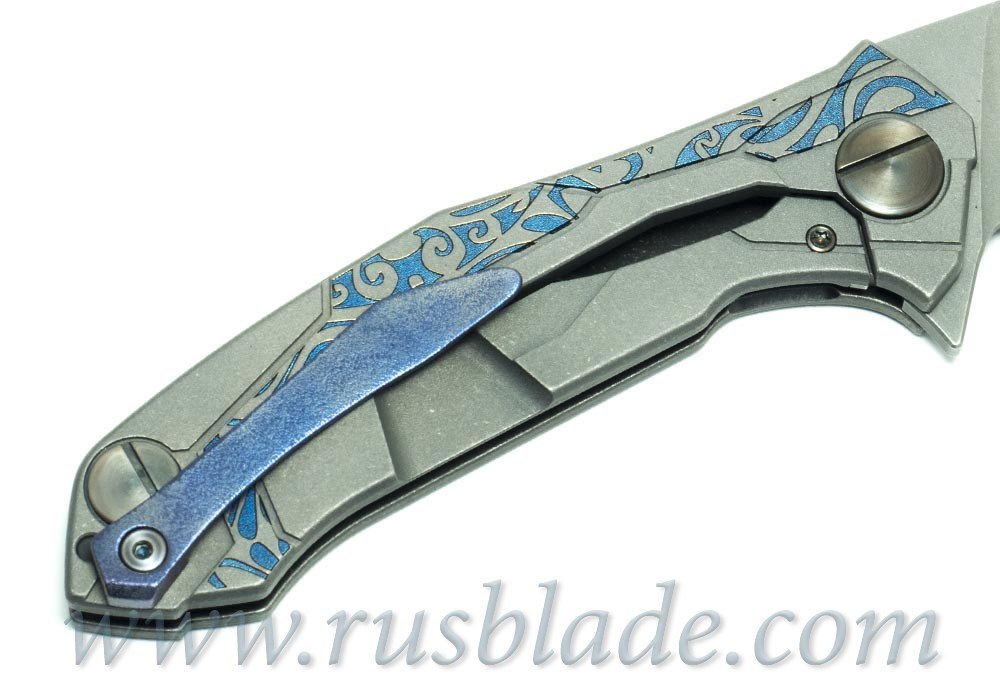 CKF T90 CUSTOM TURTLE ONE-OFF Knife