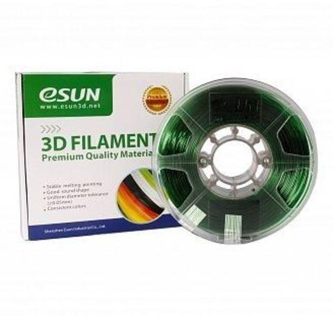 PETG-пластик ESUN 1.75 мм 1 кг., зеленый (PETG175G1)
