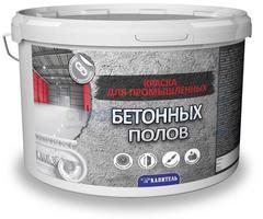 Краска Капитель высокопрочная для бетонных полов серая, 30 кг