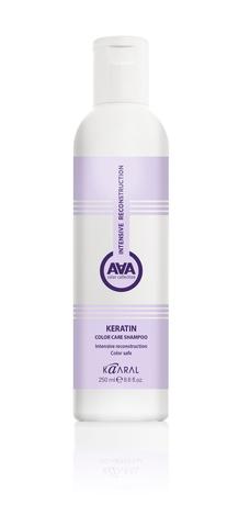 Шампунь ААА Каарал кератиновый для окраш волос 250мл