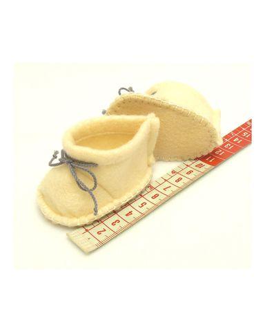 Ботиночки из фетра - Демонстрационный образец. Одежда для кукол, пупсов и мягких игрушек.