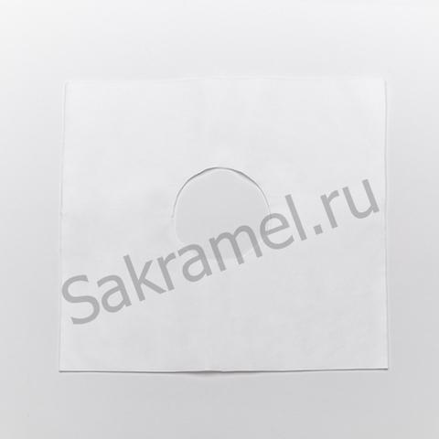 Салфетки для мас. кресла с отверстием (SMS, белый, 40х40 см, 50 шт/упк, стандарт)