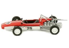 Moskvich-G5 red-white 1:43 DeAgostini Auto Legends USSR #93
