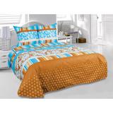 Комплект 2-спальный, бязь &#34Тете-а-тете  Classic&#34 Chocolate, артикул Э-0524-01 2, производитель - Тете-а-тете Classic