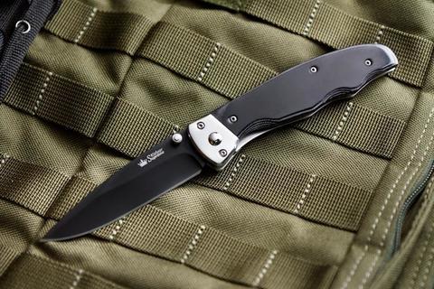 Складной нож Prime 440C Black Titanium