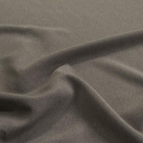 Ткань рогожка Джейн бежево-коричневый