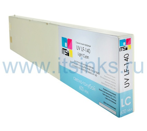 Картридж для Mimaki LF-140 Light Cyan 600 мл