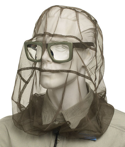 Cупернакомарник с очками. Входят в комплект