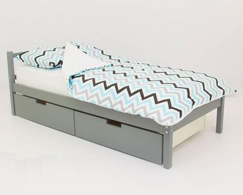 Кровать ФОРЕСТ графит