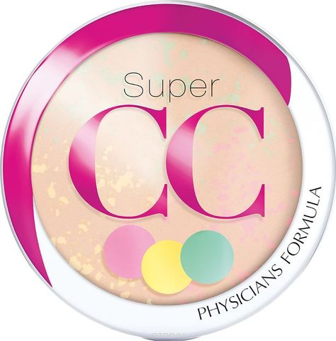 Финишная пудра PHYSICIANS FORMULA Super CC Color-Correction + Care СС Powder