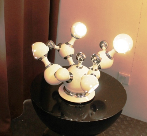 replica ATOMIC table lamp ( white )