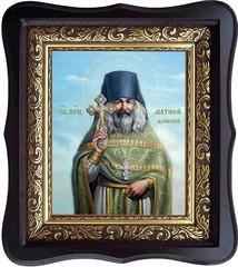 Матфей Яранский, преподобный иеромонах. Икона на холсте.