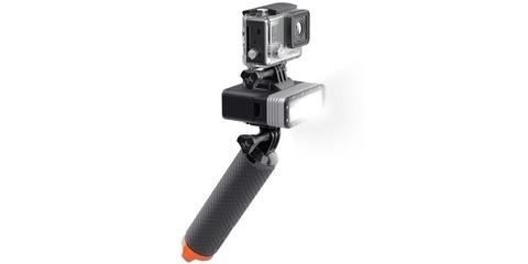Светодиодный LED фонарь SP POV Light 2.0 с камерой на моноподе