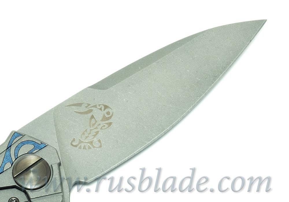 CKF T90 CUSTOM TURTLE ONE-OFF Knife