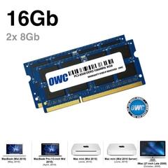 Комплект модулей памяти OWC 16GB (2x 8GB) 1066MHZ DDR3 SO-DIMM PC3-8500 для Apple 2010 iMac, mac mini, macbook pro 1.5V