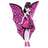 Ghoul-to-Bat Transformation Draculaura Doll