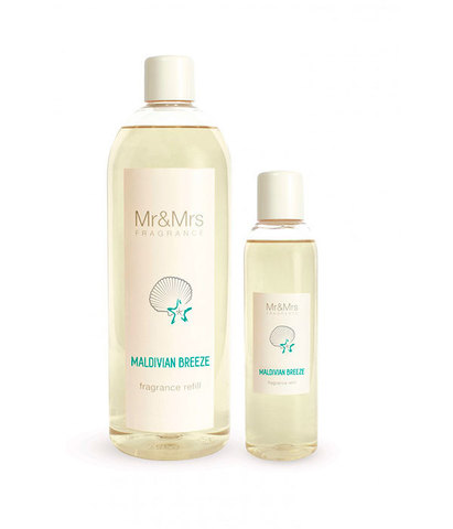 Наполнитель для ароматического диффузора Blanc №15 Мальдивский бриз, Mr&Mrs Fragrance