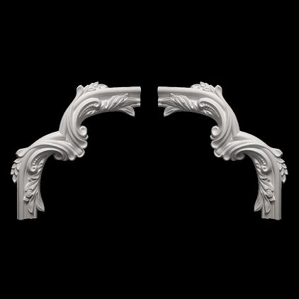 Угловой элемент Европласт из полиуретана 1.52.400, интернет магазин Волео