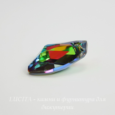 6656 Подвеска Сваровски Galactic Vertical Crystal Vitrail Medium (19 мм)