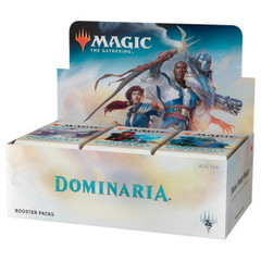 Дисплей бустеров выпуска «Dominaria» (английский)