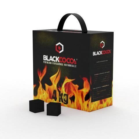 BLACKCOCO'S SHISHA NATURAL COCONUT COAL 4 кг