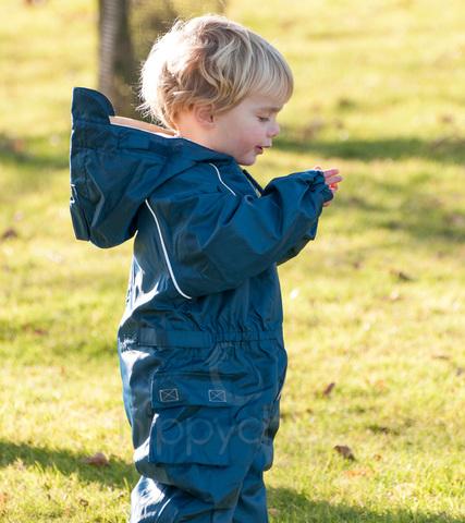 Комбинезон Хиппичик с флисовой подкладкой синий