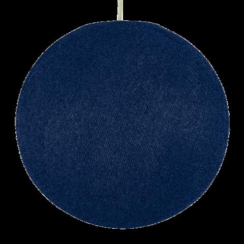 Хлопковый шар - подвес Серо-голубой