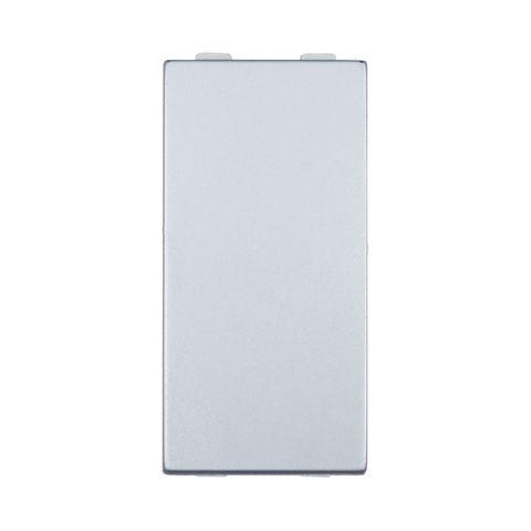 Выключатель 45х22,5 мм 16 A, 250 В~ 1 модуль (схема 1). Цвет Серебристый металлик. LK Studio LK45 (ЛК Студио ЛК45). 850103