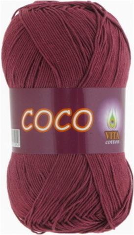 Пряжа Coco (Vita cotton) 4325 Светло-вишневый