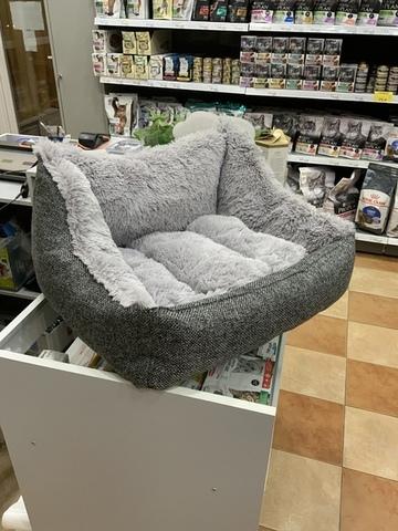 Лежак-диван серый 55*50