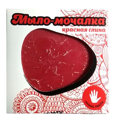 Мыло с красной глиной с вытяжкой из тамбуканской грязи