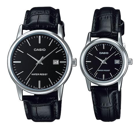 Купить Парные часы Casio Standard: MTP-V002L-1AUDF и LTP-V002L-1AUDF по доступной цене
