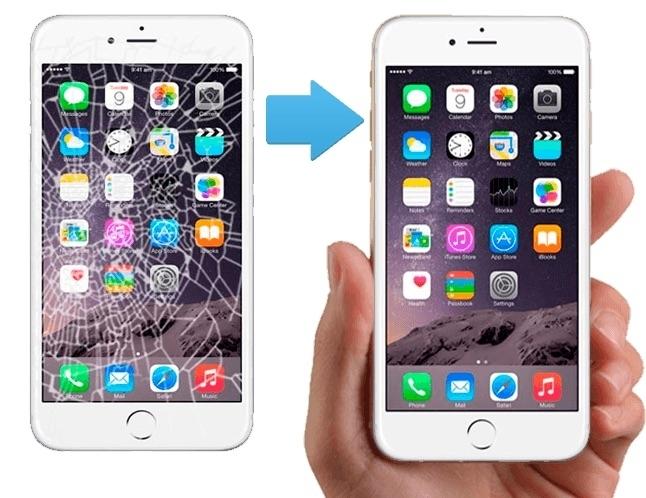 челябинск ремонт стекла на айфон