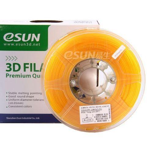 PETG-пластик ESUN 1.75 мм 1кг., желтый (PETG175Y1)