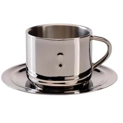 Кофейная чашка с блюдцем - Straight