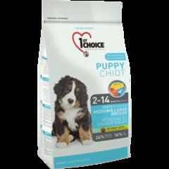 Корм для щенков средних и крупных пород, 1st Choice Puppy, с курицей