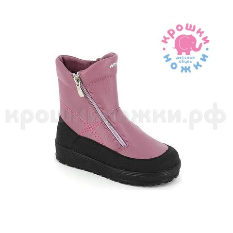 Зимние ботинки, цвет пион, Тотто 356-мп