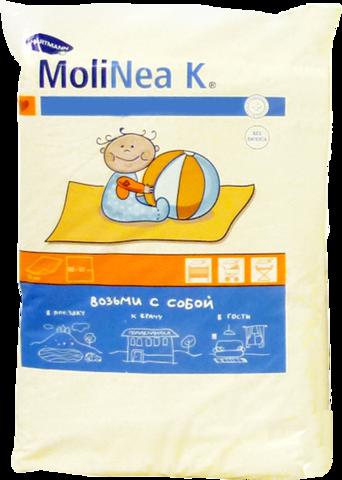 Хартман Molinea K пеленки впитывающие 60х60 см 4 слоя 10 шт.